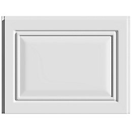 Cooke & Lewis Pienza Deco Gloss White Straight