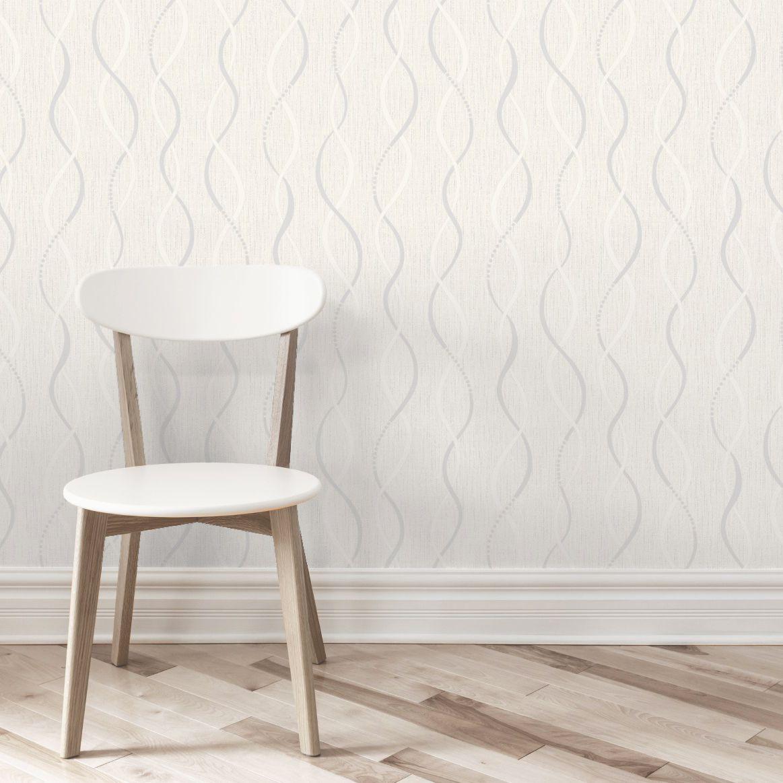 Beige Birkdale Glitter Effect Wallpaper