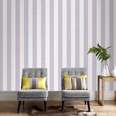 Lilac Shimmer Wallpaper