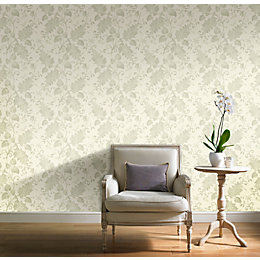 Green Splendour Mica Shine Wallpaper