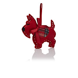 Red Scottie Dog Tree Decoration
