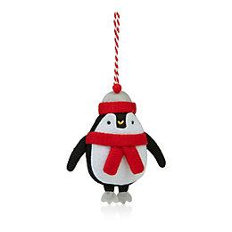 Felt Penguin Tree Decoration