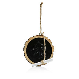 Chalkboard Tree Decoration