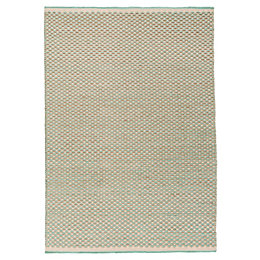 Colours April Beige & Turquoise Tonal Rug (L)170cm
