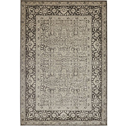 Colours Elenor Grey Persian Rug (L)230cm (W)160cm