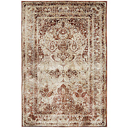 Colours Elsbeth Natural Persian Rug (L)230cm (W)160cm