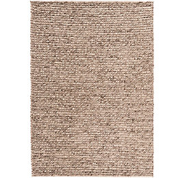 Colours Darcey Natural Plain Rug (L)170cm (W)120cm