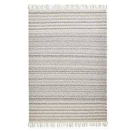 Colours Jayde Grey Stripe Rug (L)230cm (W)160cm