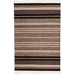 Colours Mila Natural Stripe Rug (L)170cm (W)120cm