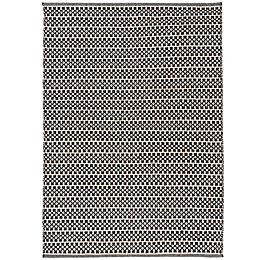 Colours Astrid Black & White Geometric Rug (L)170cm