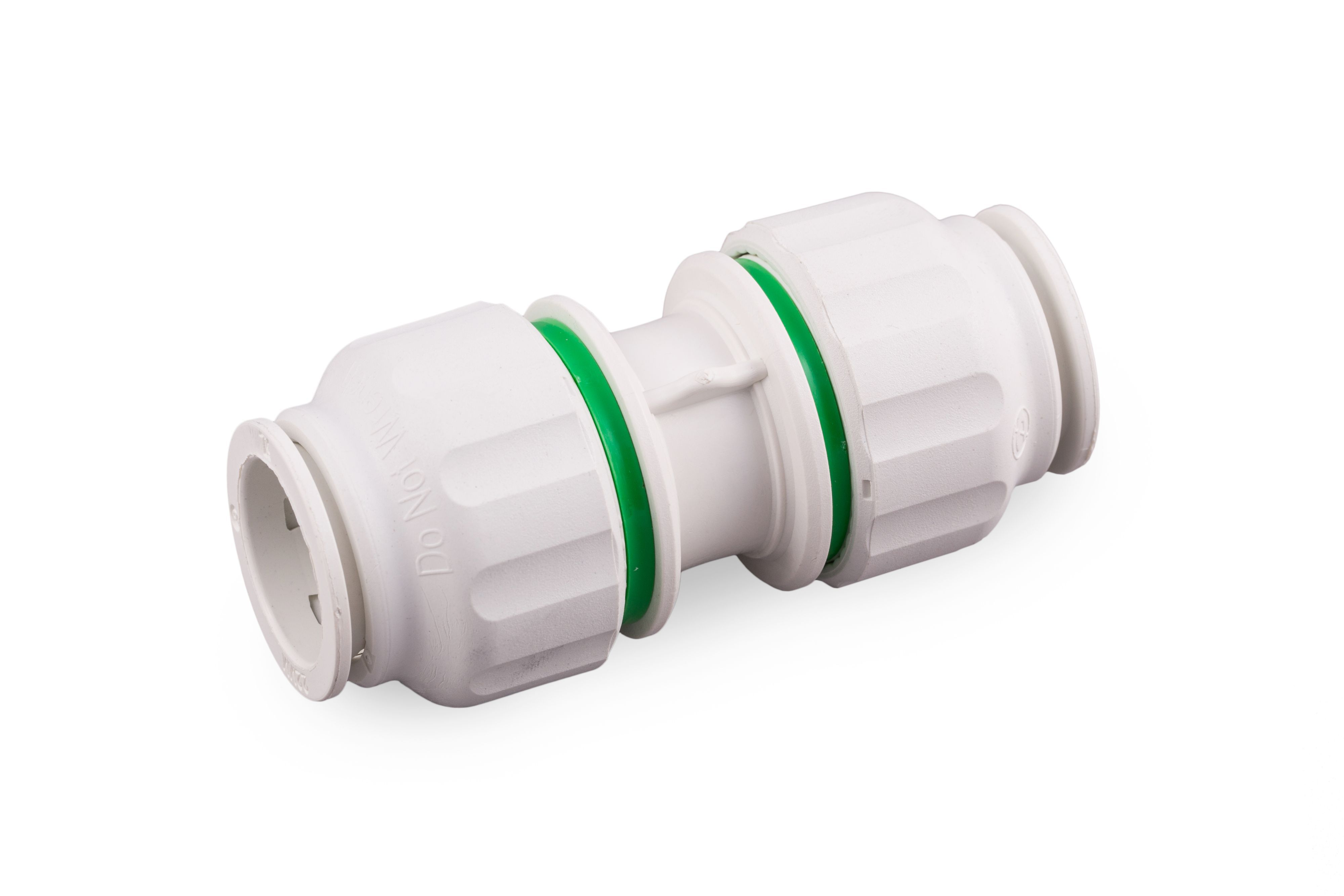 Plumbsure Push Fit Straight Connector (dia)15mm, Pack Of 5