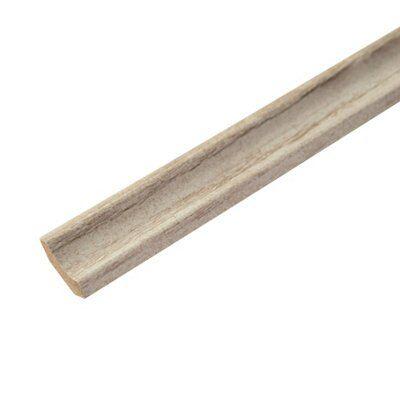 Boulder Oak Effect Matt Mdf (wood Fibre) Scotia Trim 2 M