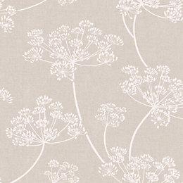 Colours Imogen Earth Floral Wallpaper