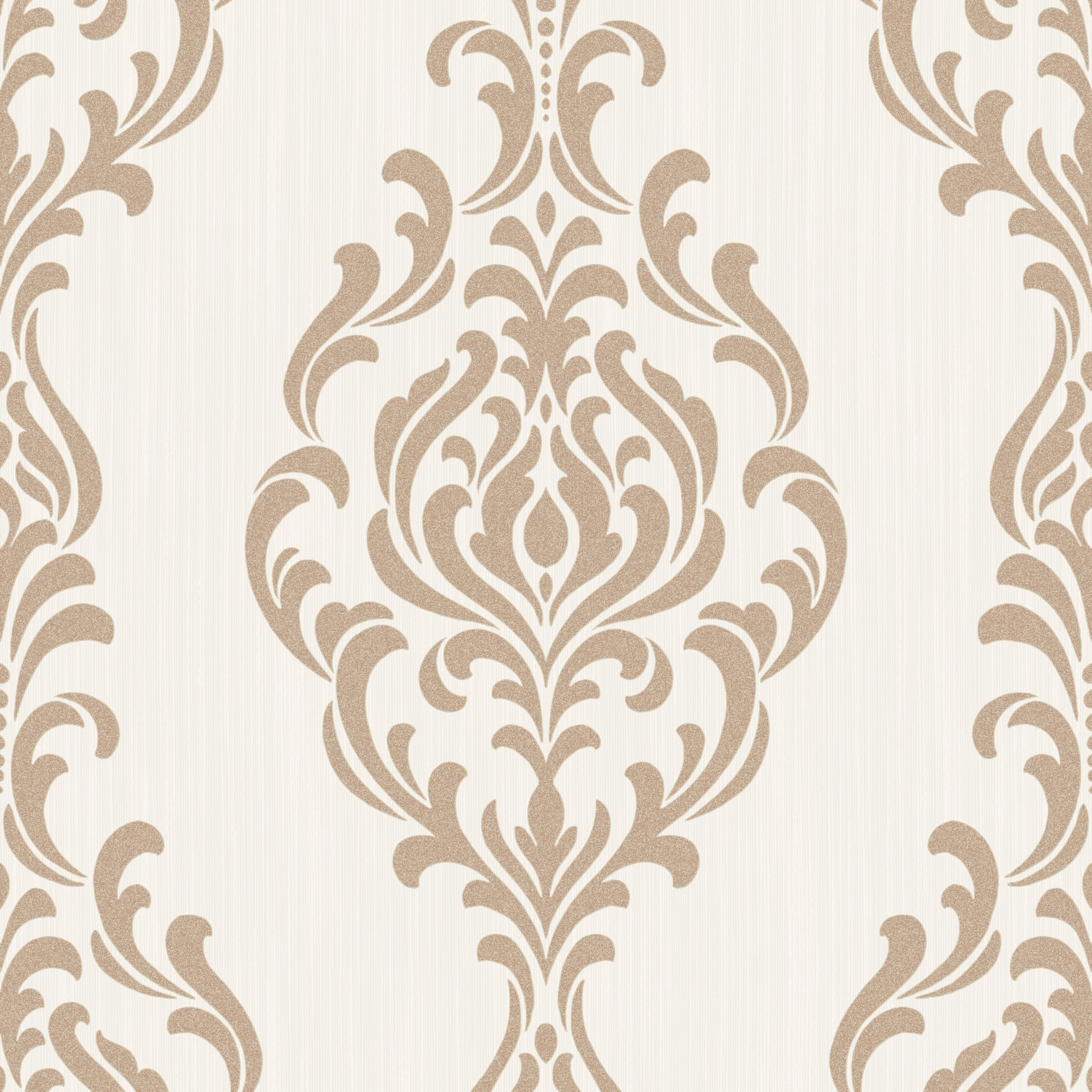Colours Takara Cream Damask Glitter Effect Wallpaper