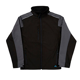 Rigour Black Water Repellent Jacket Extra Large
