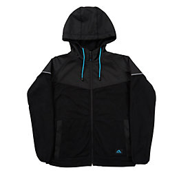 Rigour Black Fleece Hoodie Extra Large