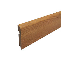 Colours Milano Oak MDF (Wood Fibre) Skirting Board