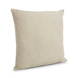 Christianne Honeycomb Beige Cushion