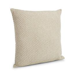 Christianne Honeycomb Beige Cushion