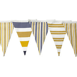 Striped Decorative Bunting, (L)3 M