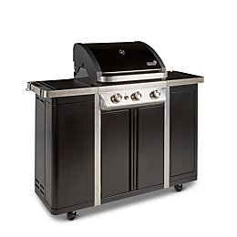 Blooma 350 Camden 3 Burner Gas Barbecue with