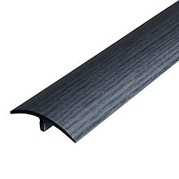 Colours Grey Pine Effect Threshold Trim 90 cm