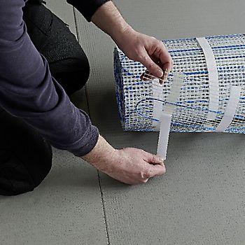 Dry underfloor heating