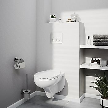Ideal Standard Imagine compact Contemporary Close-coupled Corner toilet with Soft close Seat