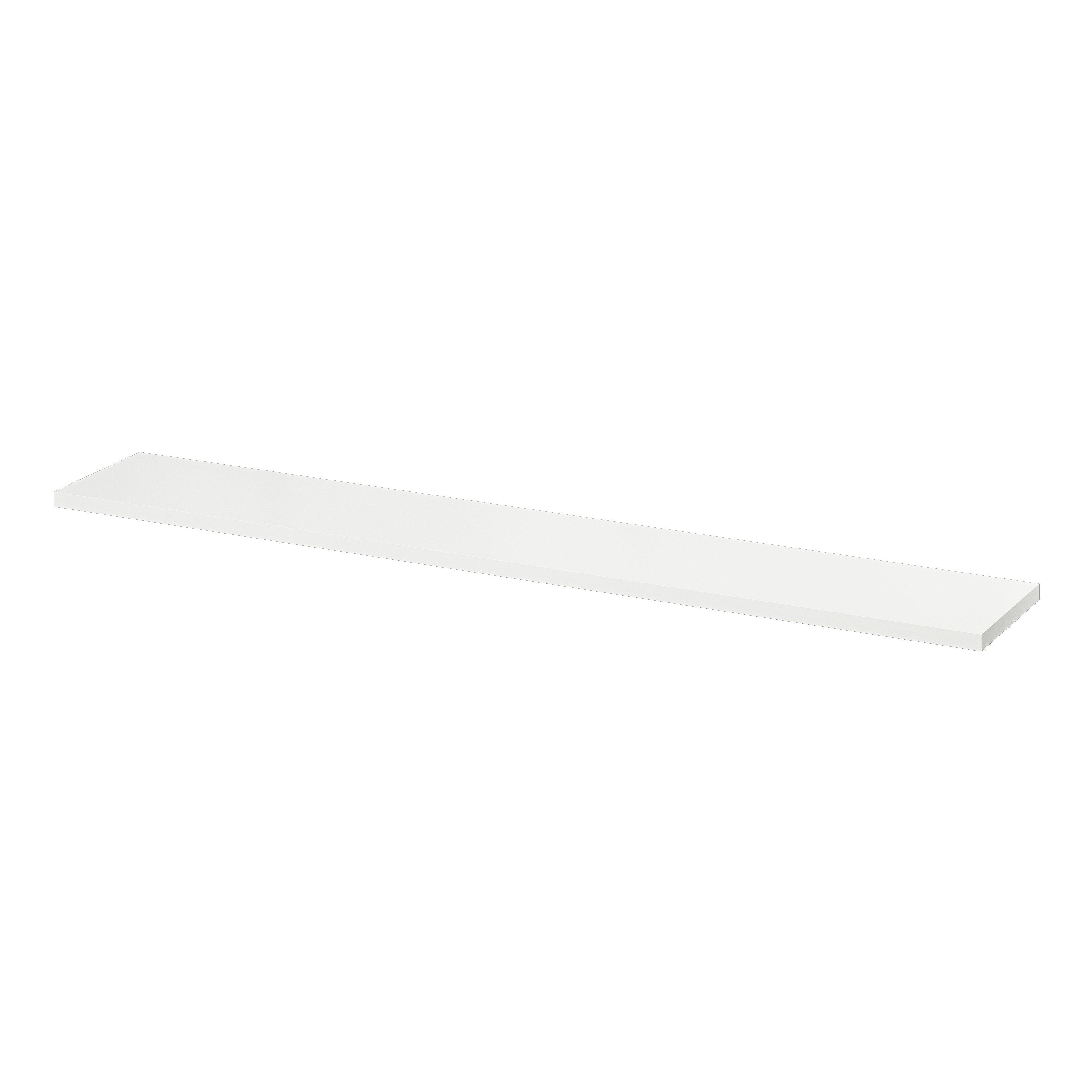 Rigga White Wall Shelf (L)1180Mm (D)190Mm