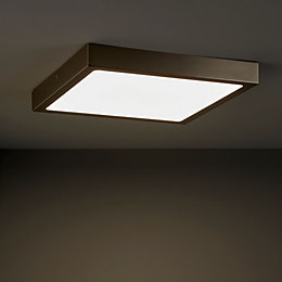 Hestia Brushed Chrome Ceiling Light