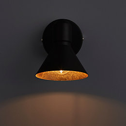 Kedros Black & Gold Effect Spotlight