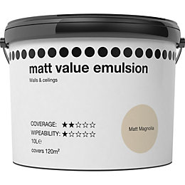 Magnolia Matt Matt Emulsion Paint 10L