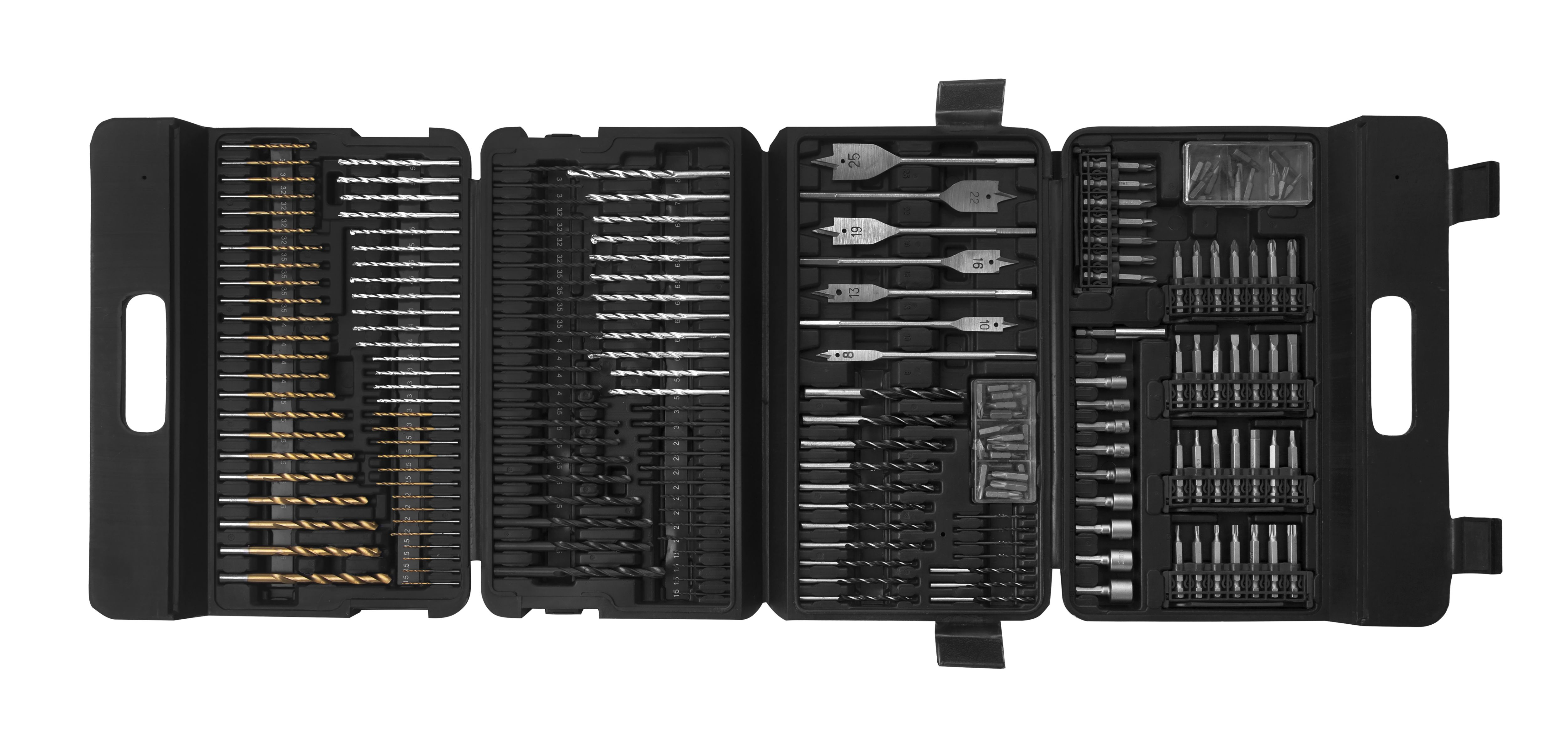 Mixed Drill Bit Set, 223 Pieces
