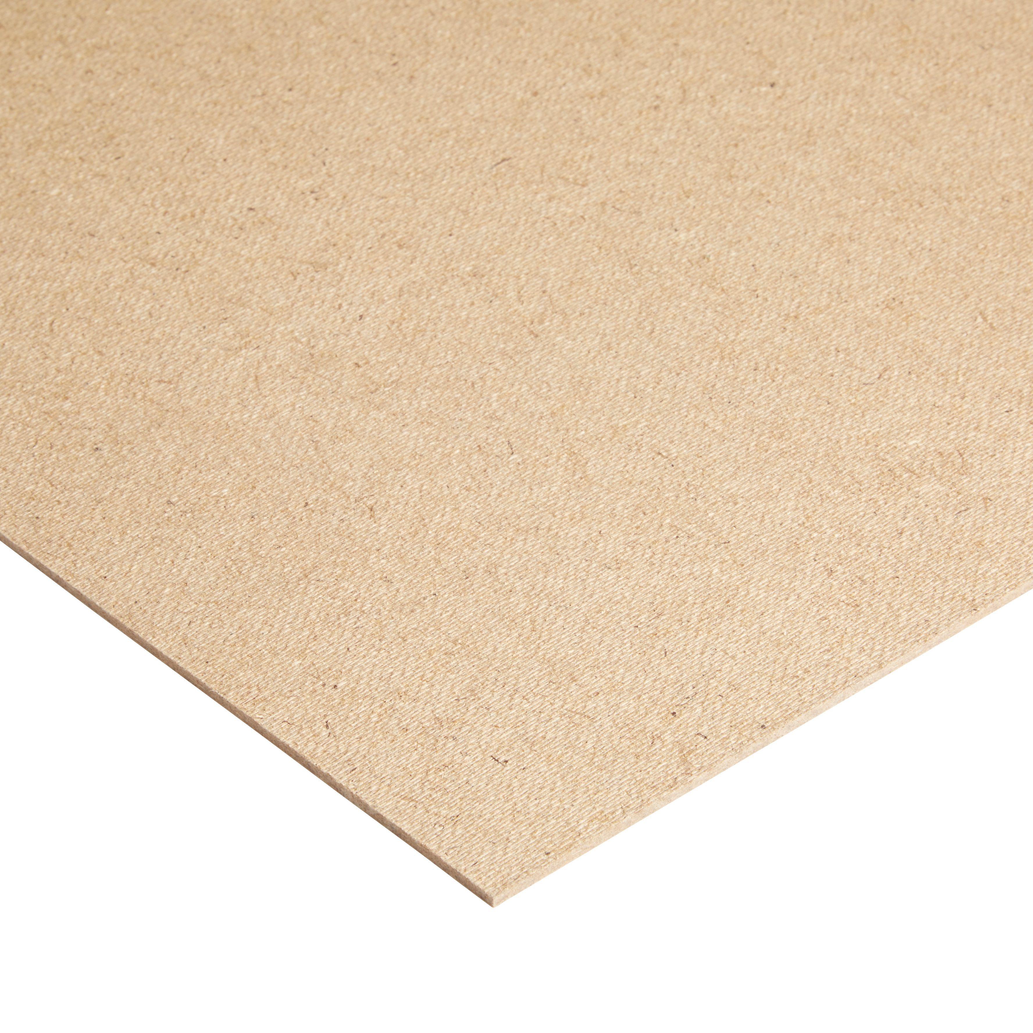Hardboard sheet th mm w l departments