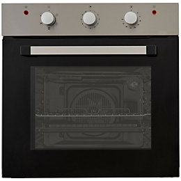 Cooke & Lewis CLFSB60 Black Electric Single Oven