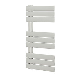 Blyss White Designer Flat Towel Warmer (H)900mm (W)500mm