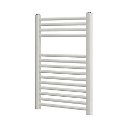 Blyss White Flat Ladder Towel Radiator (H)700mm (W)400mm