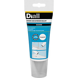 Diall Ready to Use Sanitary & Kitchen Sealant