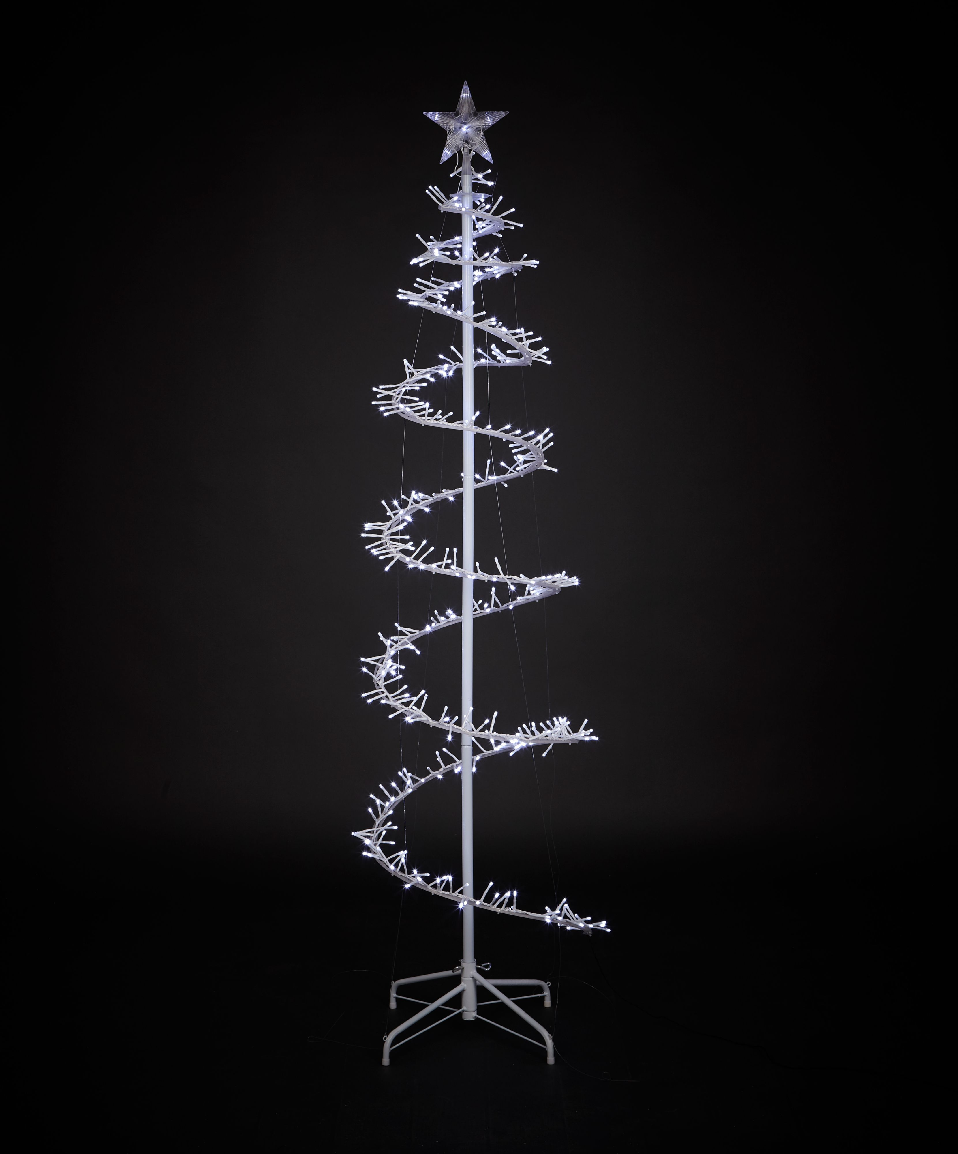 Mains Powered Led Cluster Light Tree Silhouette
