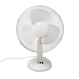 "12"" 3-Speed Desk Fan"