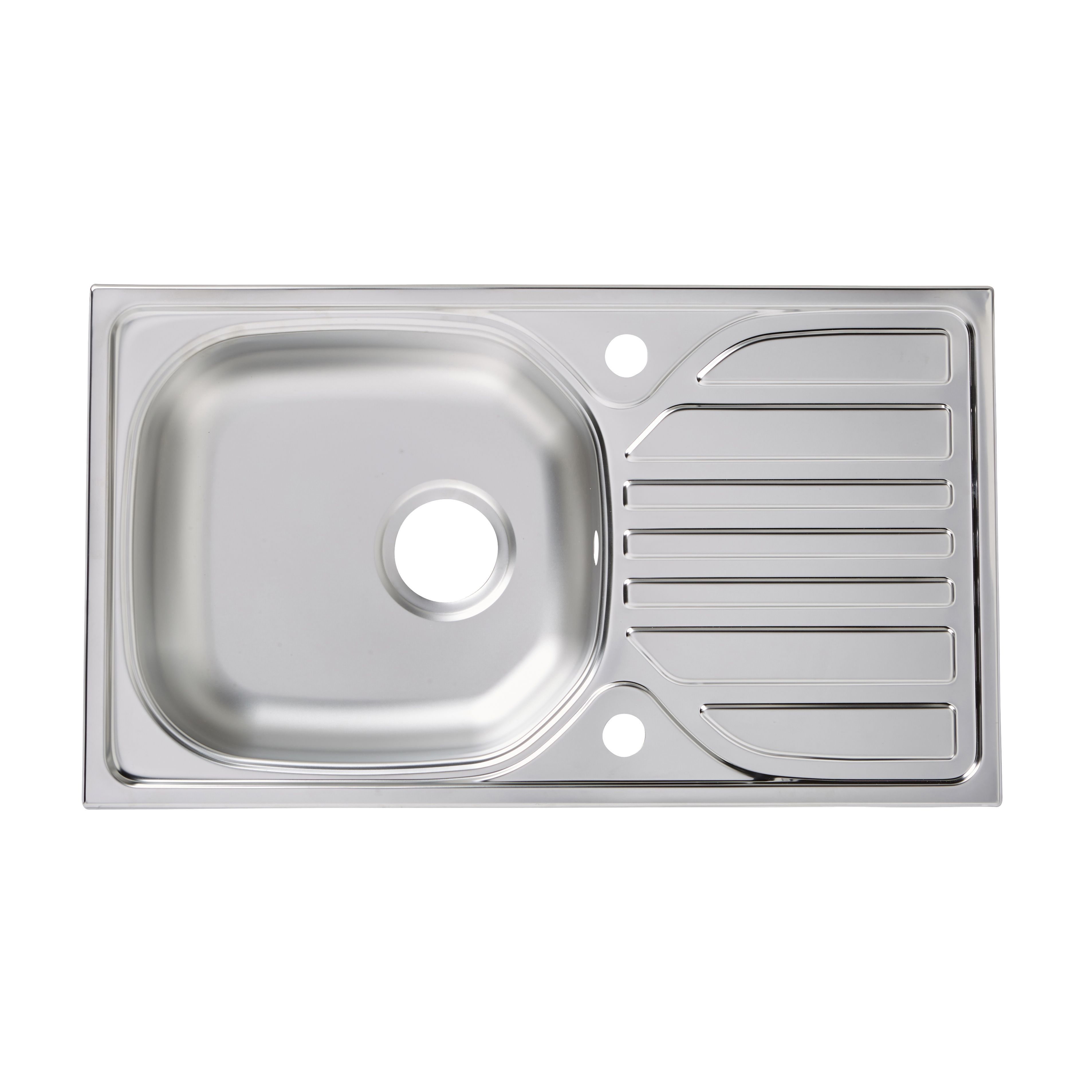 Turing 1 Bowl Stainless Steel Sink & Drainer