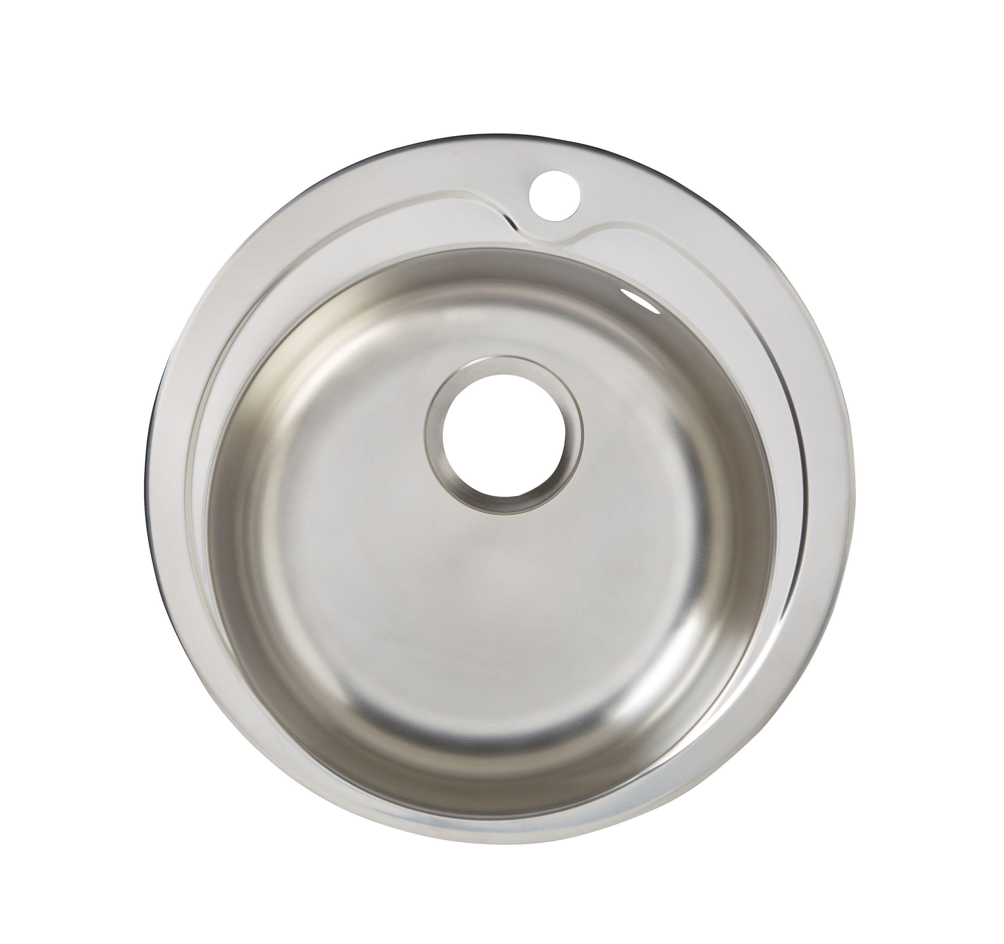 White Enamel Kitchen Sinks 15 Bowl Sinks Kitchen Sinks Kitchen Departments Diy At Bq