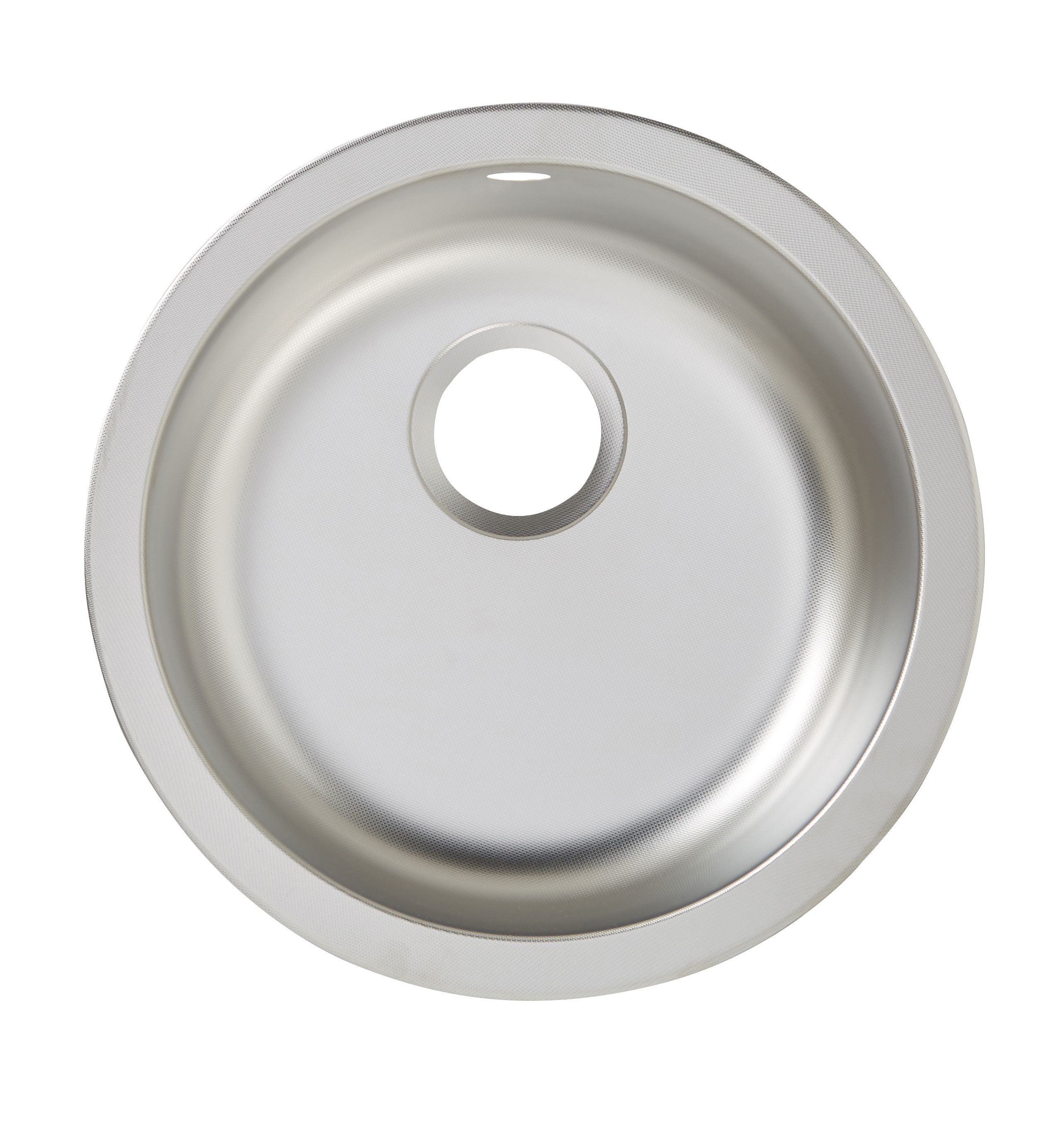 Cooke And Lewis Kitchen Sinks Diy at bq cooke lewis hurston 1 bowl linen finish stainless steel round sink workwithnaturefo
