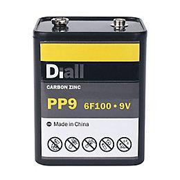 Diall PP9 Zinc Carbon Battery