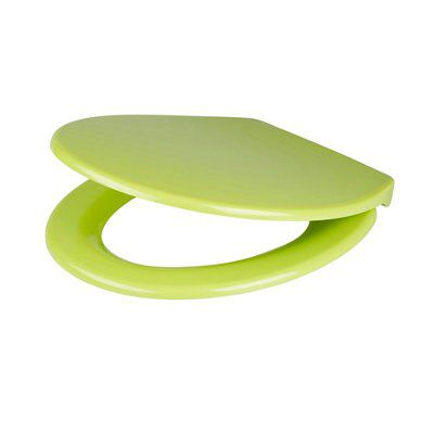 Cooke Amp Lewis Diani Green Top Fix Soft Close Toilet Seat