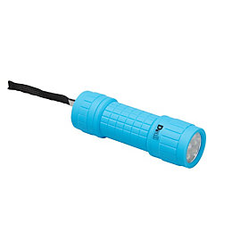 Diall 29lm Plastic LED Blue Compact Torch