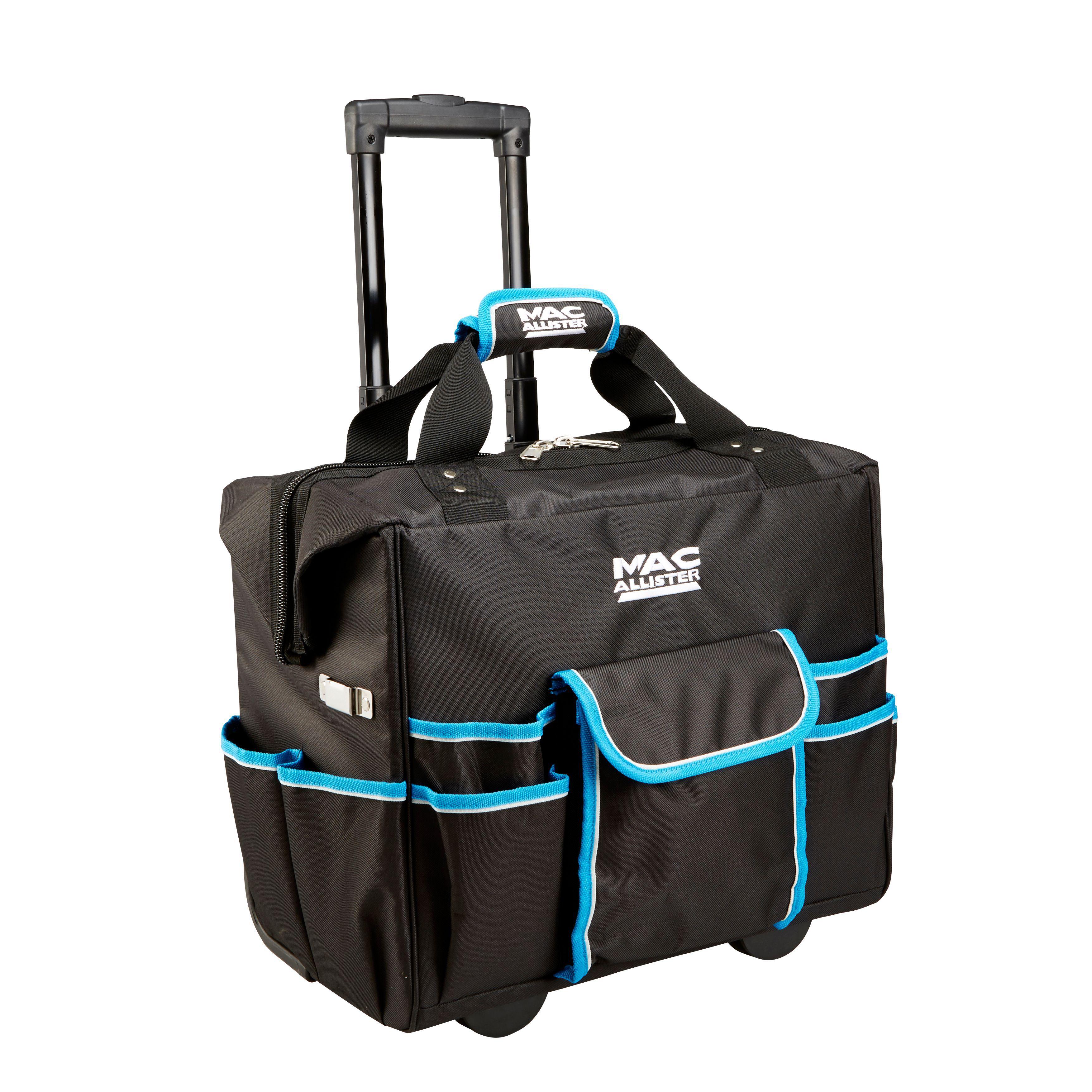 Mac Allister 600D Tool Bag with Wheels (H)380mm (W)260mm ...