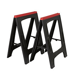 Foldable Saw Horse, Pack of 2