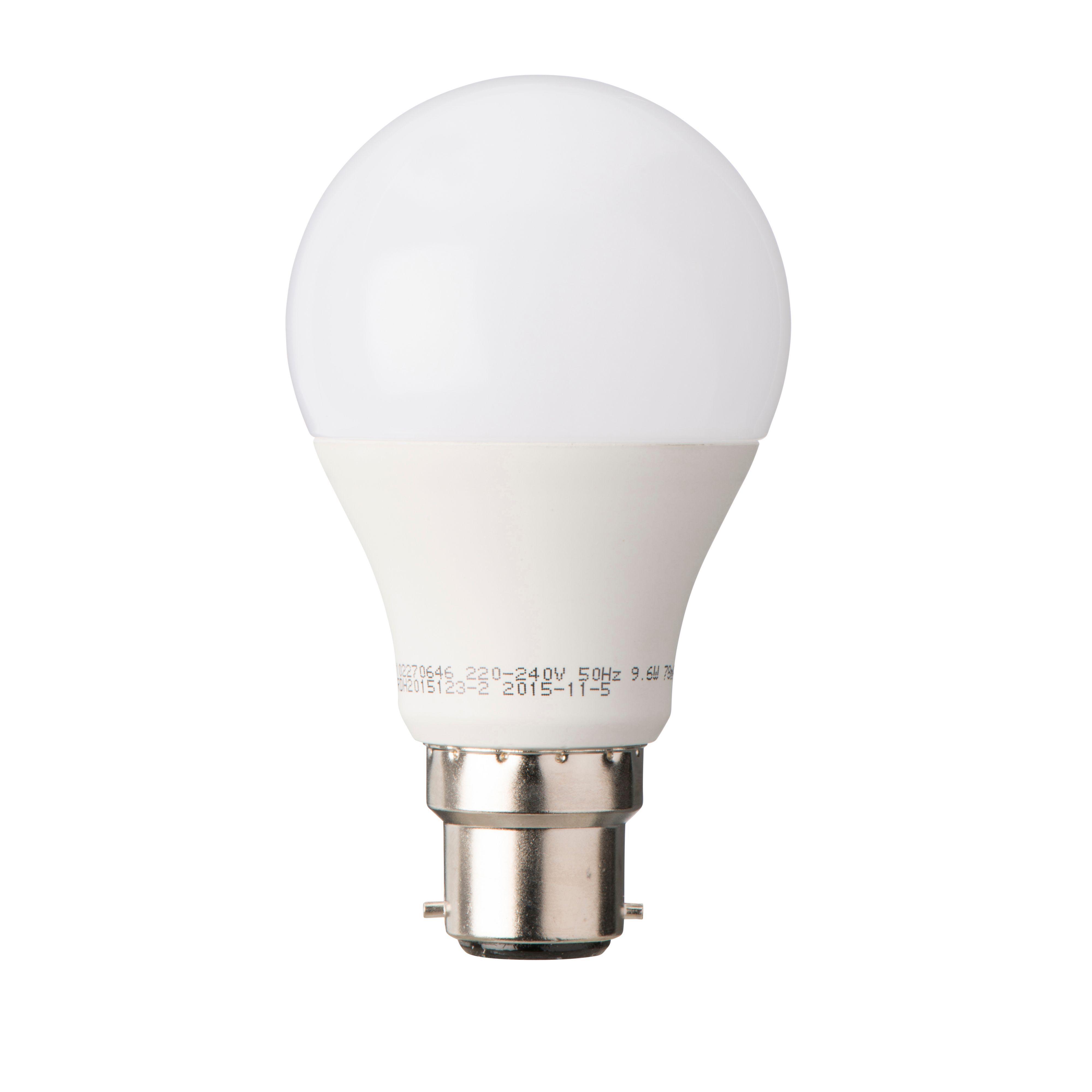 Diall B22 806lm Led Classic Light Bulb
