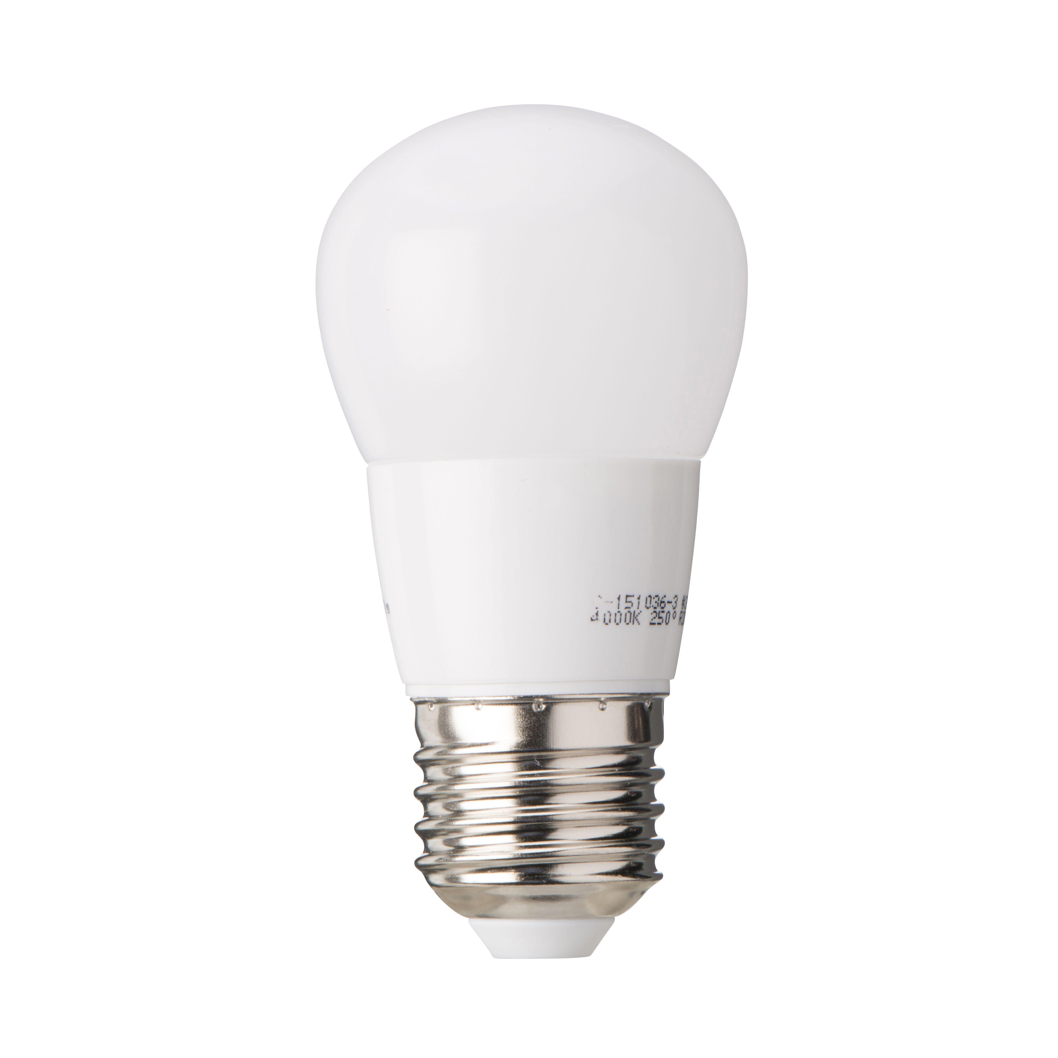 Diall E27 250lm LED Ball Light Bulb | Departments